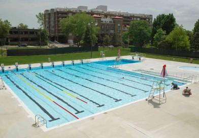 Travaux sur la terrasse de la piscine du CLW le jeudi 29 octobre