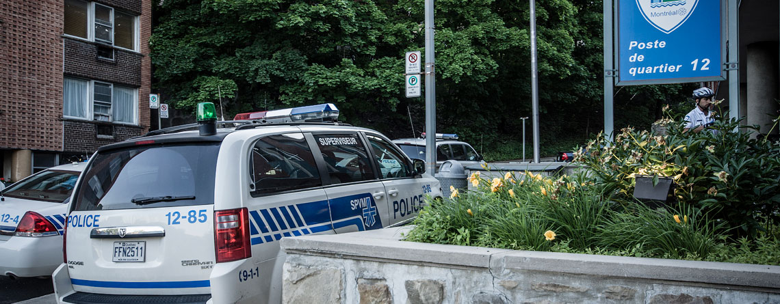 service police Westmount