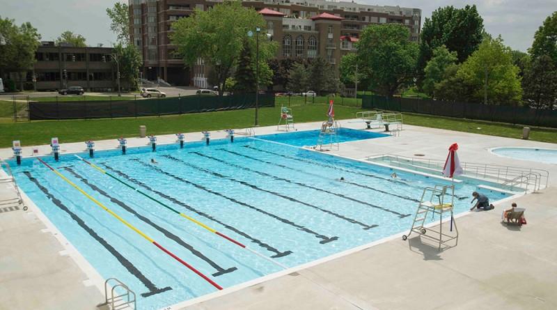 Westmount recreation center pool