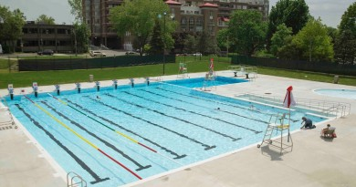 Westmount recreation center pool