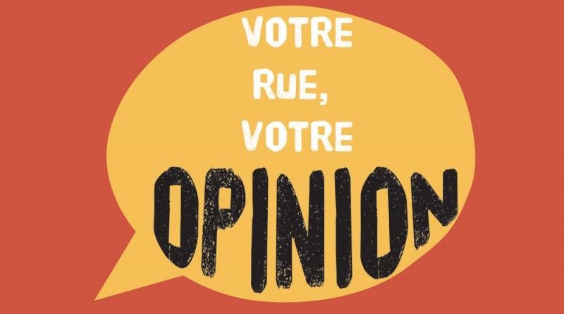 votre rue votre opinion