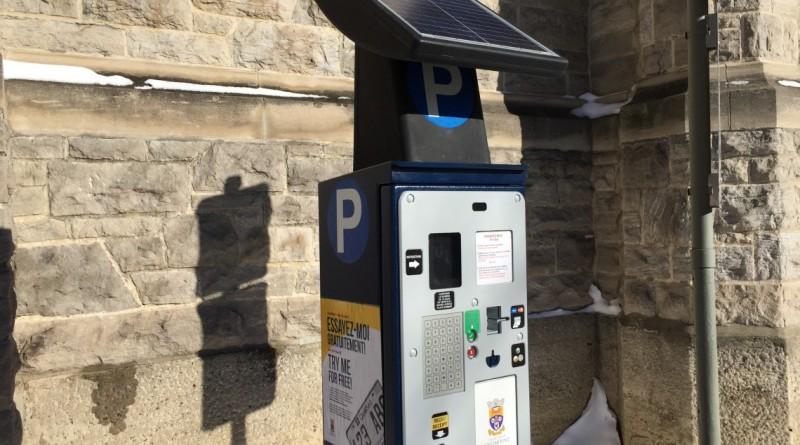 Installation des nouvelles bornes de stationnement à partir du 18 avril 2016