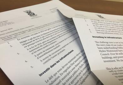 La lettre du maire : bourrée de bonnes nouvelles
