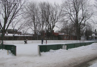 Outdoor rinks are closed for the season