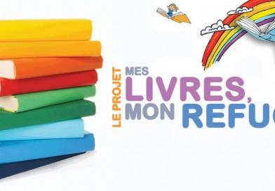 Vaste collecte de livres au profit des enfants en maison d'hébergement