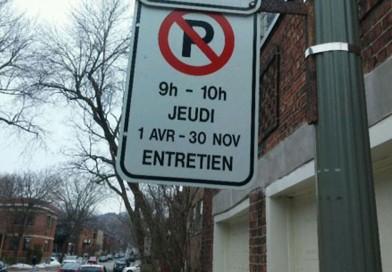 Reminder: Street maintenance schedule in effect April 1st