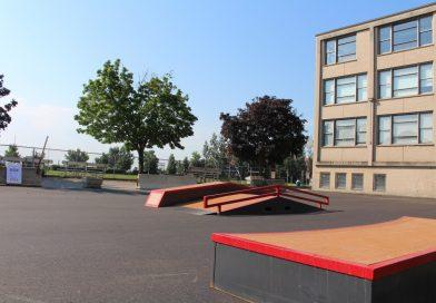 Ouverture du skateparc