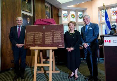 Westmount site historique nationale : dévoilement de plaque