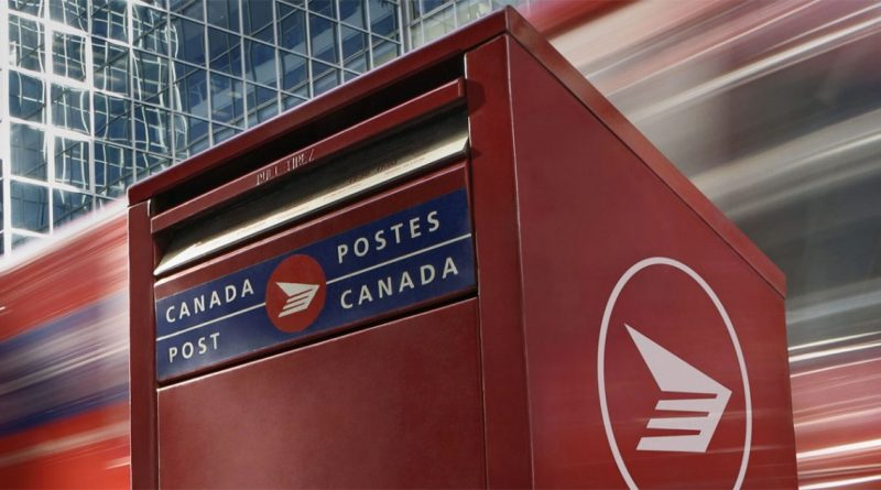Postes Canada : interruption des services