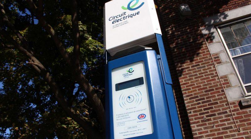 Nouvelles bornes de recharge électrique au CLW