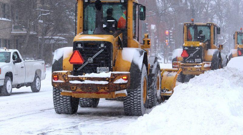 Tempête de neige – 15 et 16 février 2021