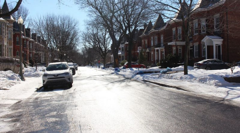 Snow removal operations completed on Wednesday, January 15