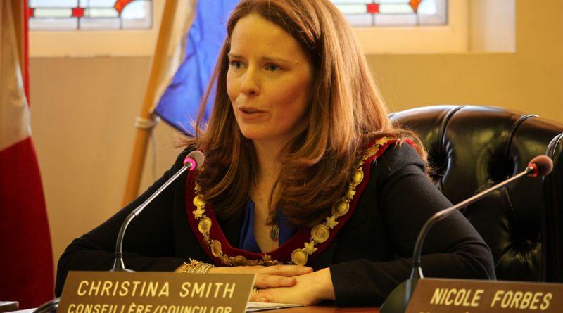Christina M. Smith élue mairesse de la Ville de Westmount