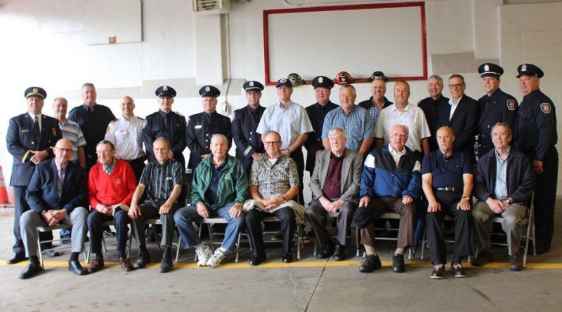 Cérémonie en reconnaissance des pompiers morts en devoir