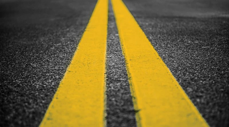 Road Line Painting in Westmount