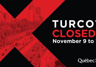 Turcot Project: Turcot closures from November 9 to 13, 2018