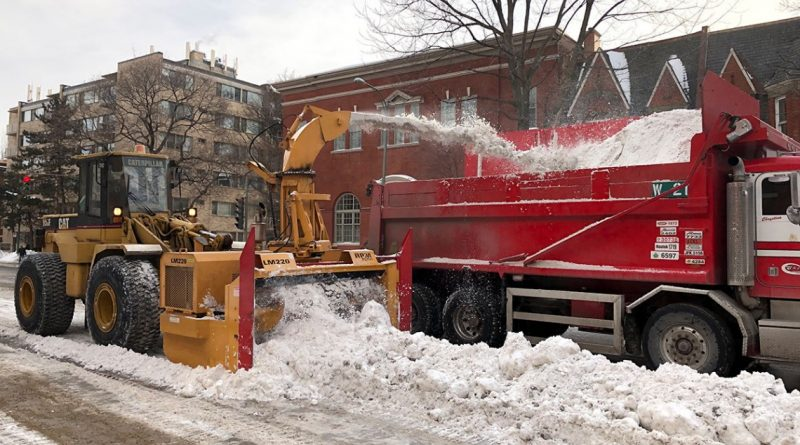 Snow loading operations starts on Sunday, January 3, 2021 at 3 p.m.
