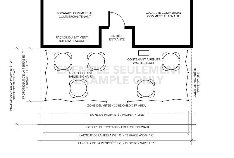 terrace plan