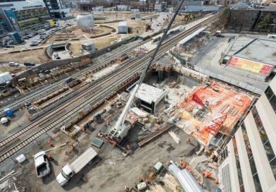 STM : Poussée du tunnel à la station Vendôme – fin de semaine du 19 avril 2019