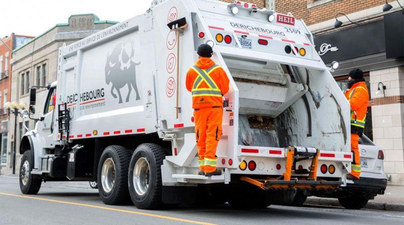 Nouvelle compagnie pour la collecte des ordures et du compost dès le 2 mai 2019