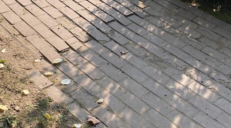 Réparation temporaire des sentiers pédestres du parc Westmount
