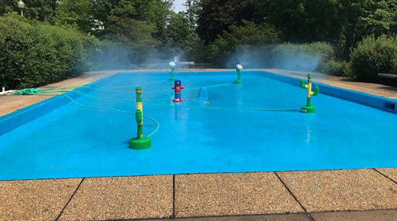 Come and cool off at King George Park
