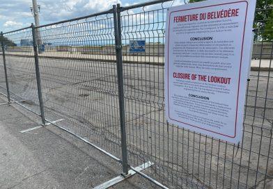 Belvédère Summit fermé pour des travaux de réparation