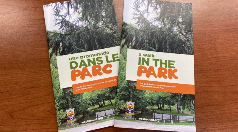 Vérifiez votre boîte aux lettres pour les lignes directrices du projet du parc Westmount