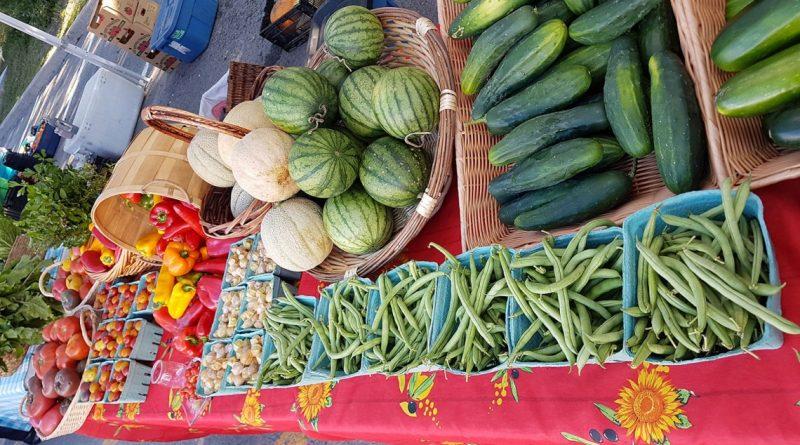 Westmount's Farmer's Stand on September 26 on Greene Ave.